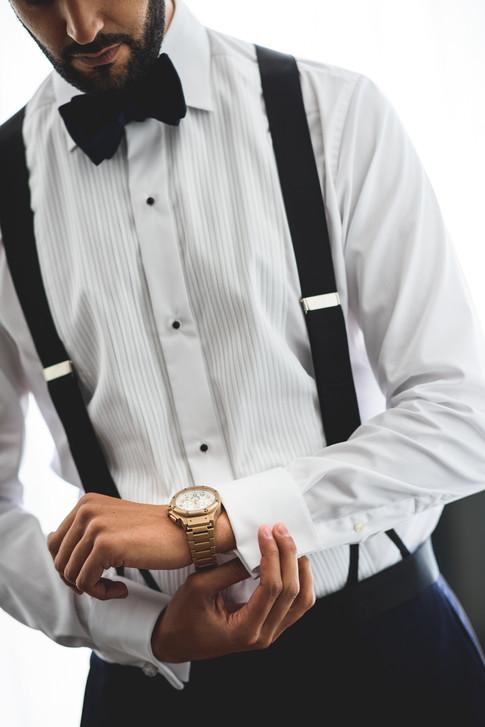 The quintessential groom