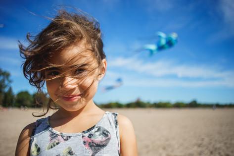 girl at kite festival