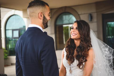 Wedding First Reveal
