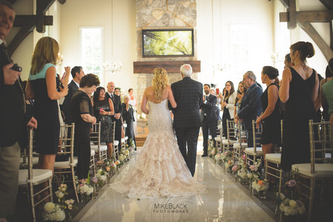 Wedding at the Ancaster Mill