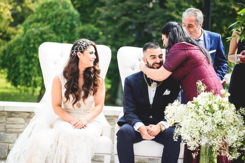 Wedding Ceremony at The Guild Inn Estate Scarborough