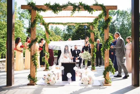 Wedding Ceremony at The Guild Inn Estate, Scarborough