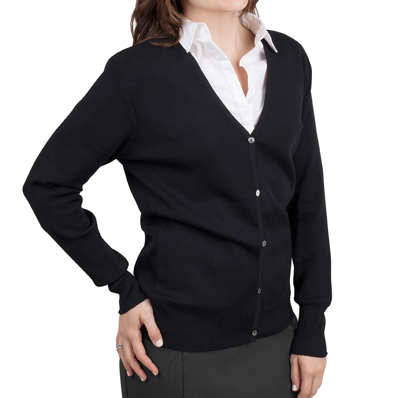 Womens cardigan black