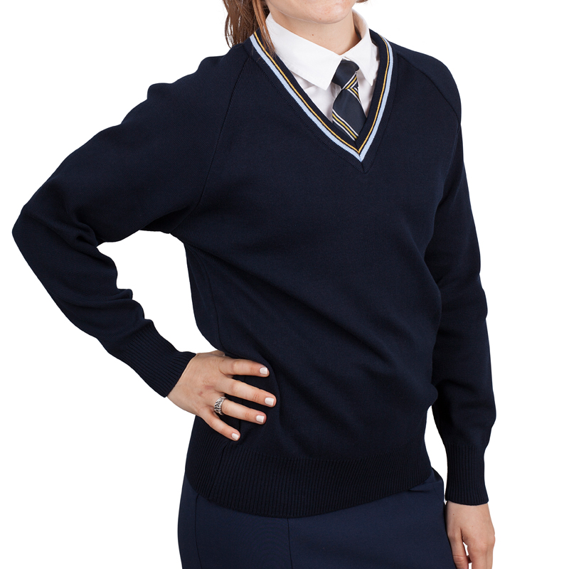 School Jumper girls black