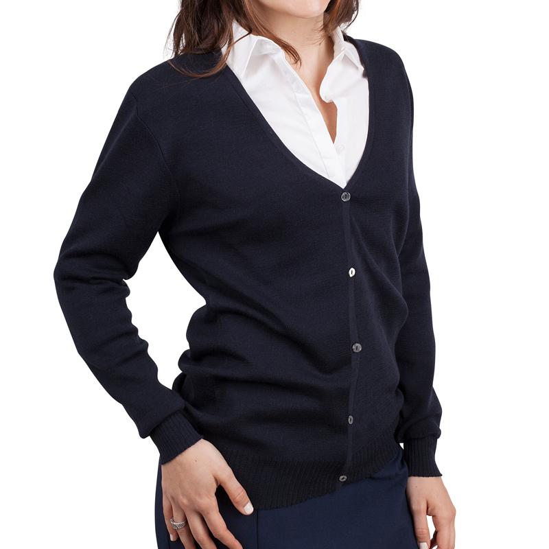 Womens cardigan navy
