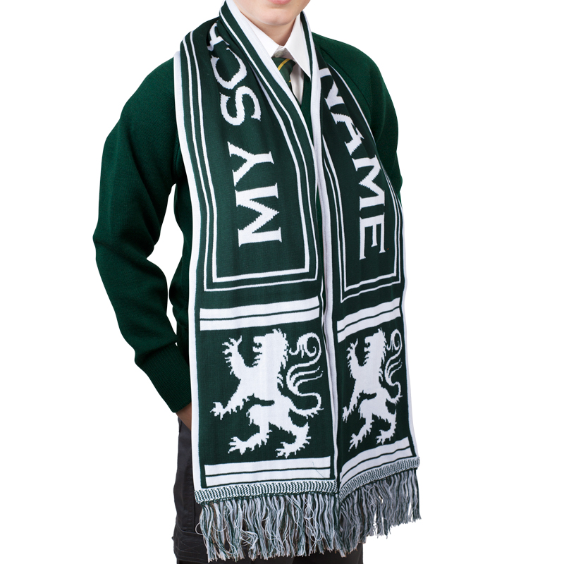 Custom-school-scarves-australia-green