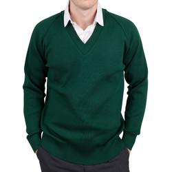 Mens Raglan green