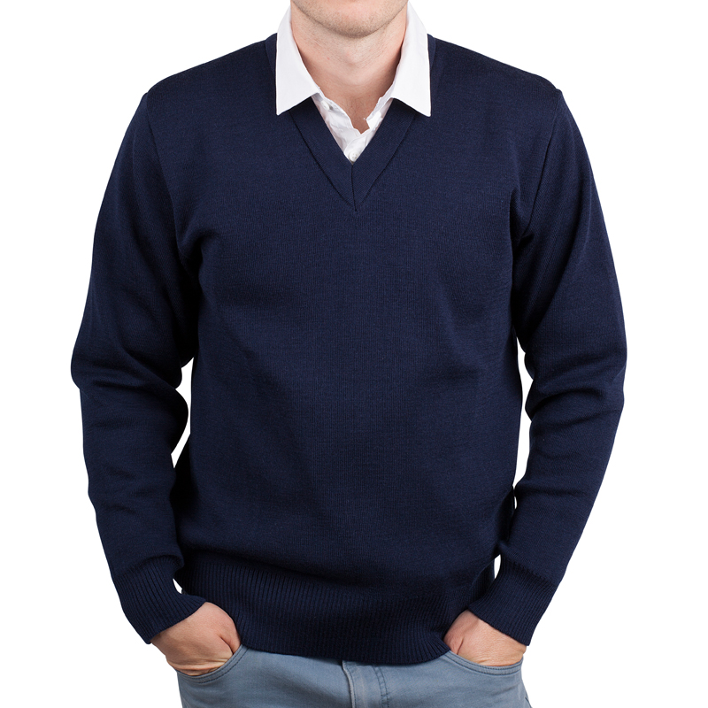 Mens Anti Static Pullover navy 01