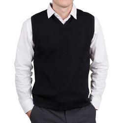 Mens Merino Vest black