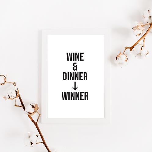 Wine & Dinner