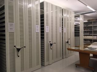 Visite des réserves du Cabinet d'arts graphiques de Genève