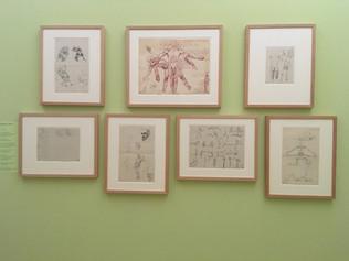 Visite guidée de l'exposition Barthélemy Menn au Cabinet d'arts graphiques de Genève