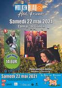 Concert Wolkenblau Colmar mai 2021