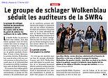 DNA L'Alsace du 17.02 Wolkenblau SWR4