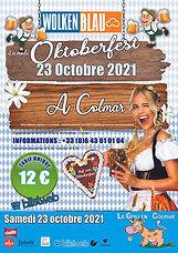 Wolkenblau Oktoberferst 2021 Colmar
