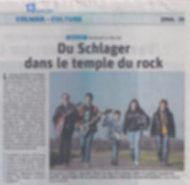 Wolkenblau - Schlager im Rock Tempel Le Grillen