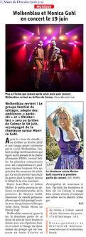 Wolkenblau & Friends Colmar Juni 2021