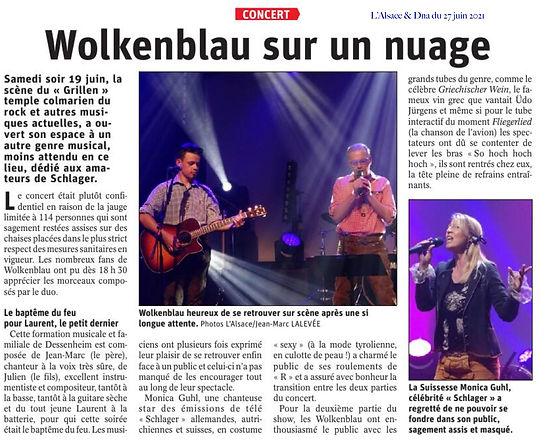 Wolkenblau & Friends Colmar Juni 2021 - Monica Guhl
