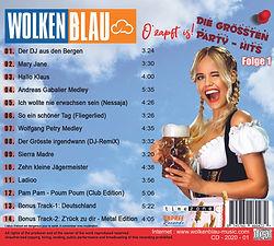 Wolkenblau Die Grössten Party Hits Folge 1
