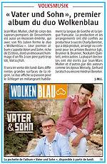 Wolkenblau - L'Alsace du 17.12.2017