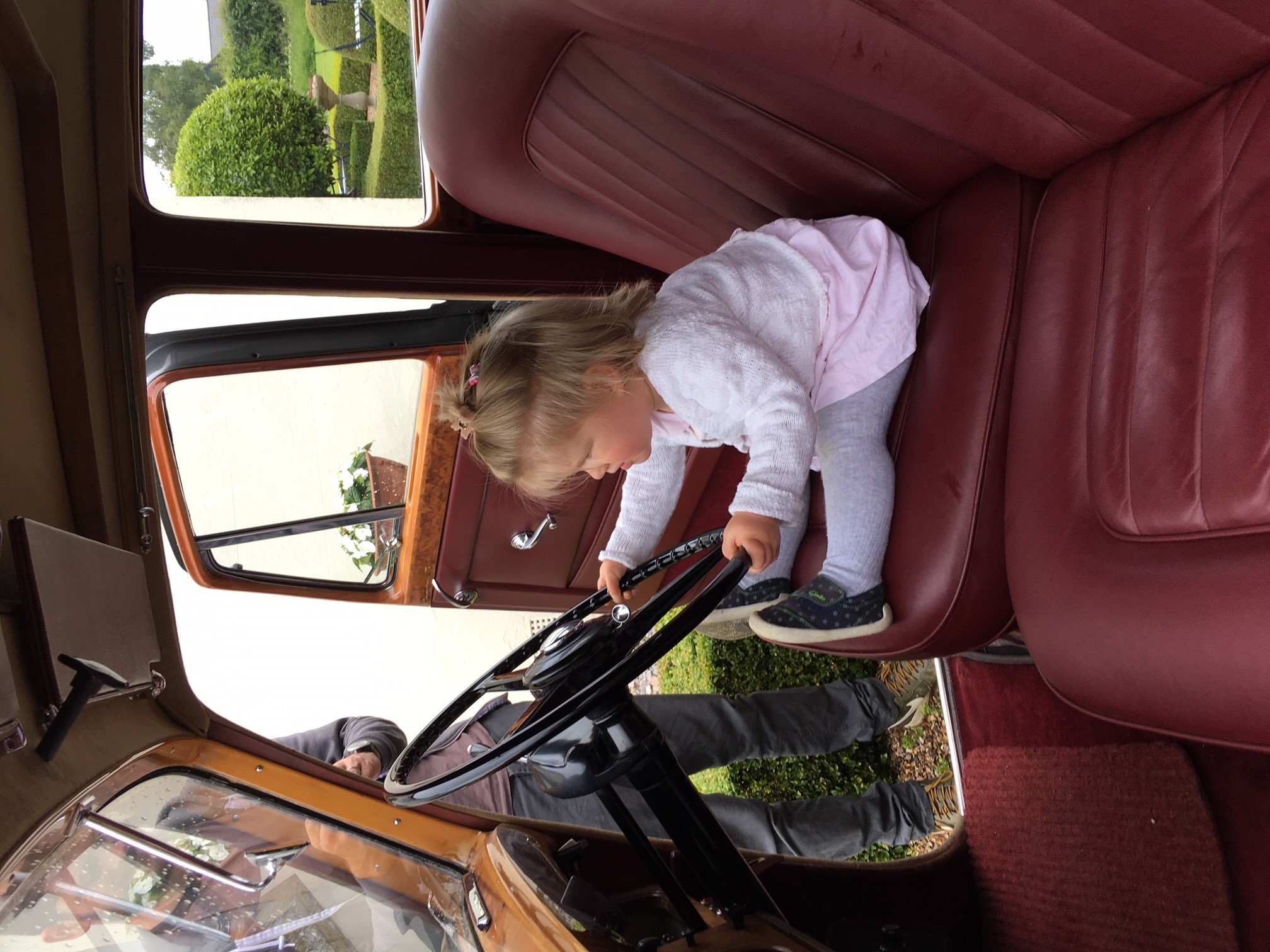 My two year old niece learning motor