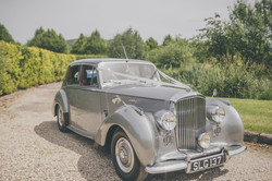 Bentley R Type standard steel sports saloon, 1953.