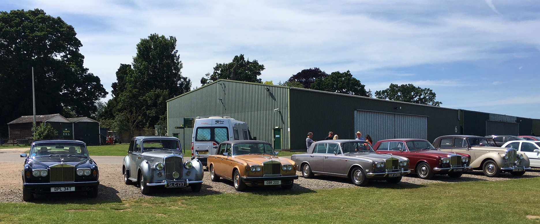 Club cars at Shuttleworth