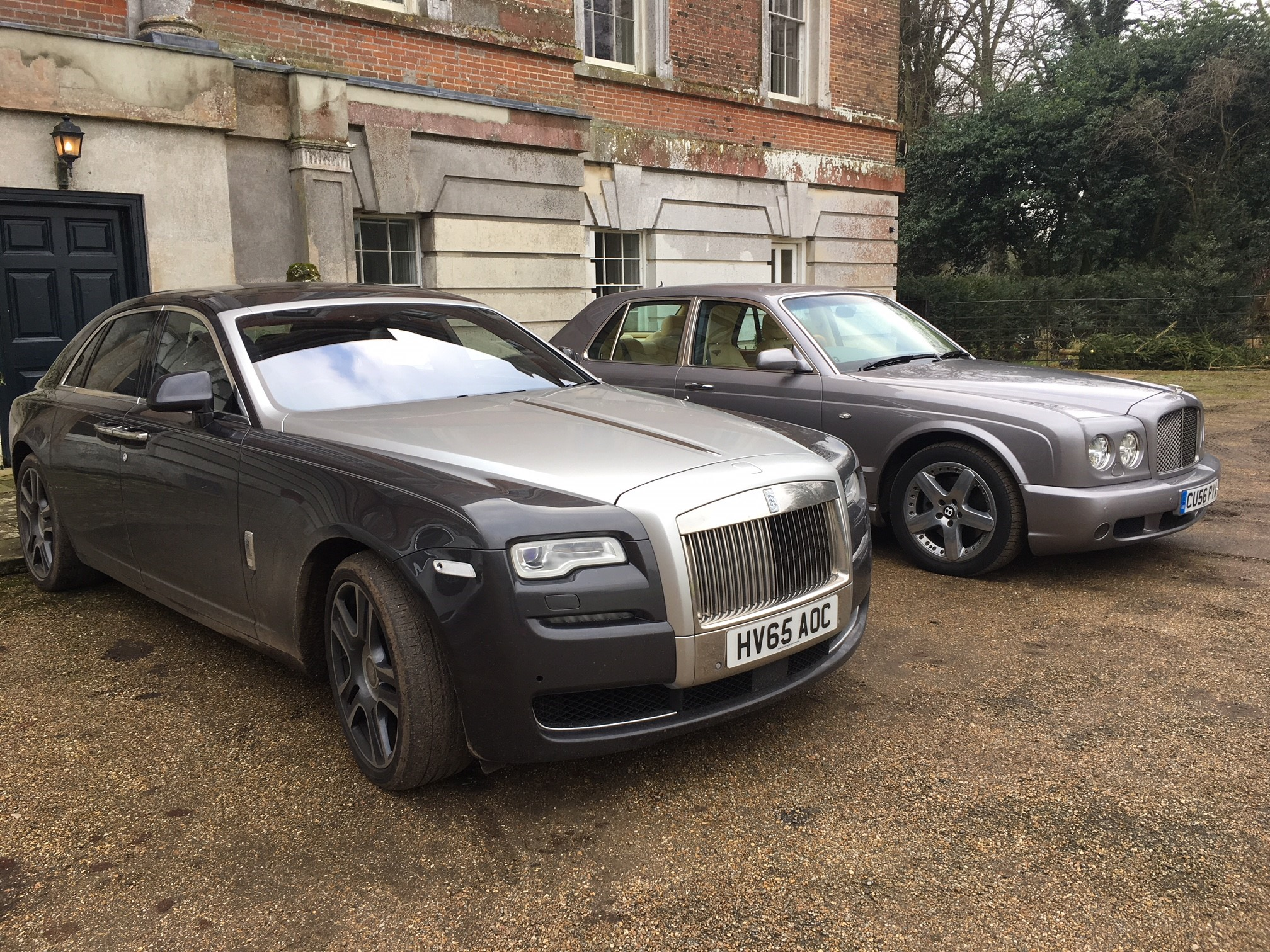 RR Ghost and the Arnage