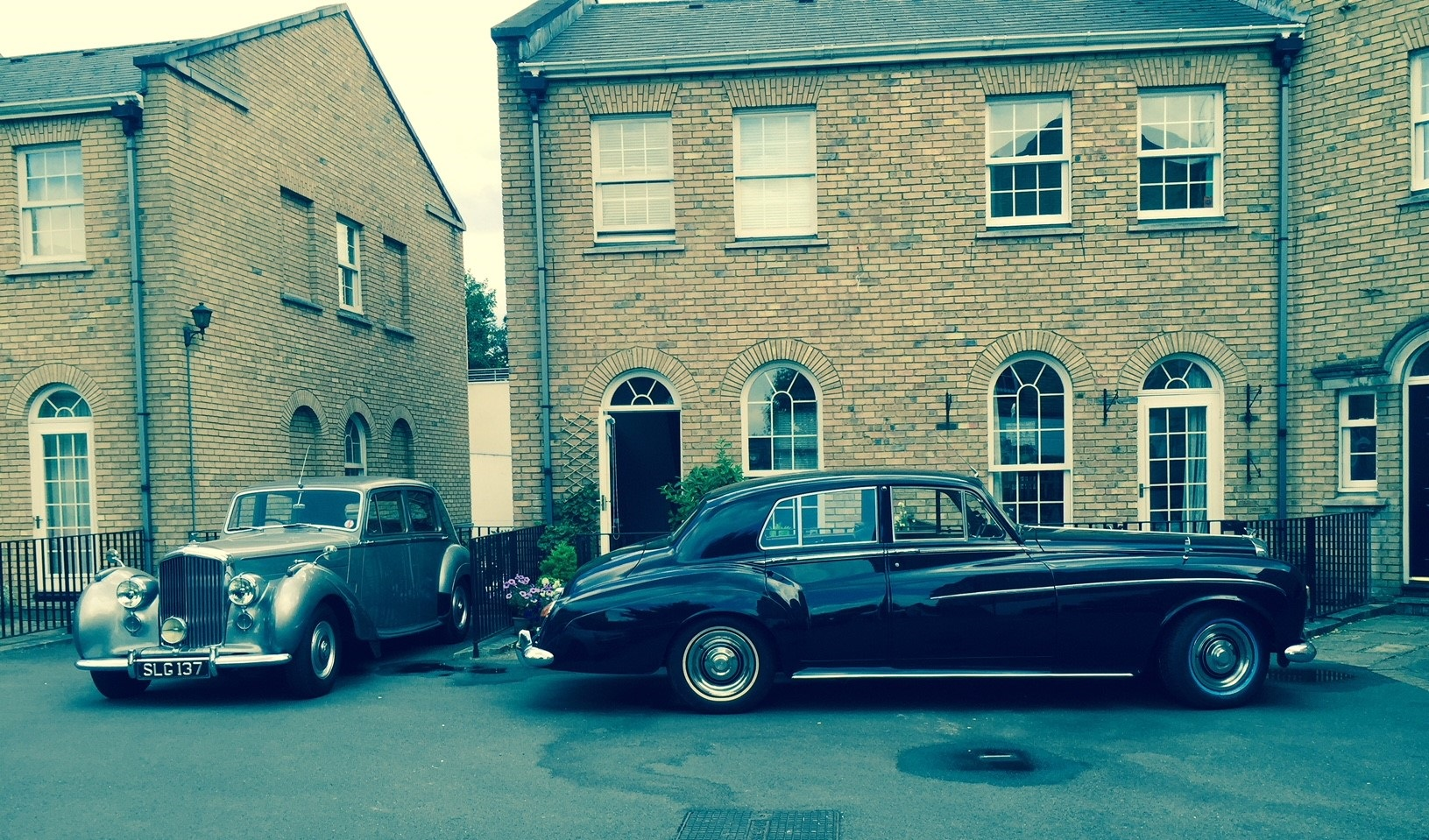 The 1953 R Type and a visiting S3