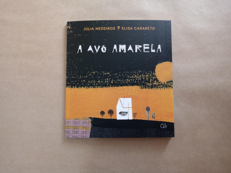 Capa do livro A Avó amarela