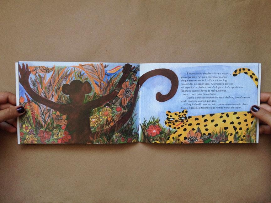 Livro O macaco e a onça