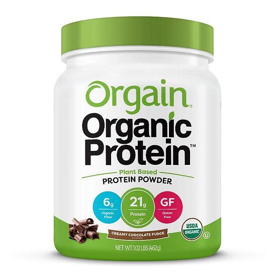 Orgain(オルゲイン)オーガニックプロテインパウダー チョコレートファッジ 462g