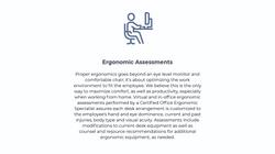 Ergonomic Assessments
