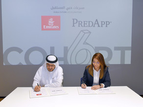 Emirates signs MoU with Predapp GmbH from Dubai Future Accelerators programme