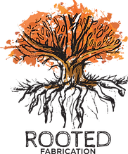 Rooted Fabrication Logo