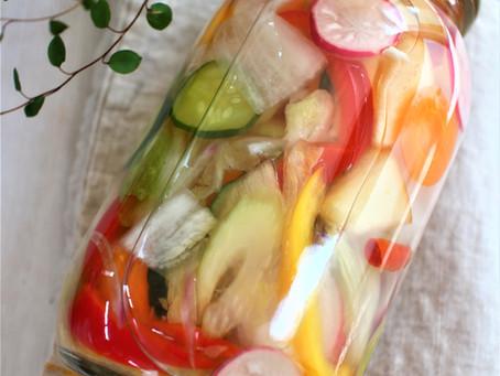 「植物性乳酸菌×食物繊維」が手軽に摂れる♪夏こそ食べたいさっぱり水キムチ作り@セレンディーラボ淀屋橋