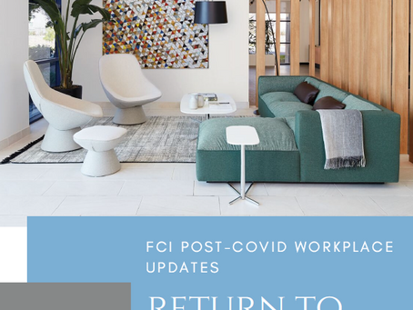 FCi Return to Work Post-COVID Disinfecting Guidelines 🧼😷🦠