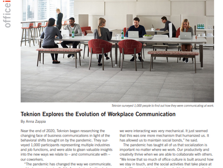 Teknion Featured in Office Insight - March 2021