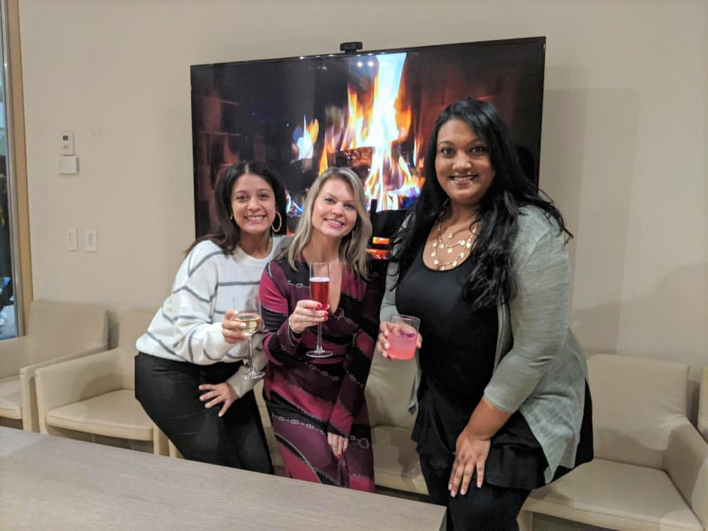 Teknion Holiday Party at the Showroom