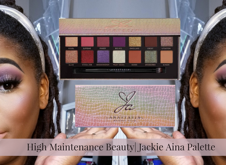 High Maintenance Beauty  First Impressions of  Jackie Aina Palette