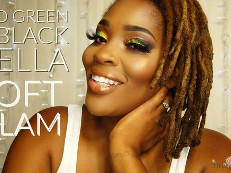 SOFT GLAM| RED, GREEN & BLACK BELLA