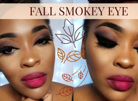 """Fall Smokey Eye  Morphe 3505 """"Fierce By Nature"""""""