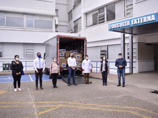 Donan 10 ventiladores para el Hospital San Rafael de Fusagasugá