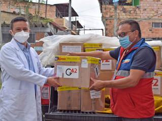 Donación de equipos biomédicos y elementos de protección