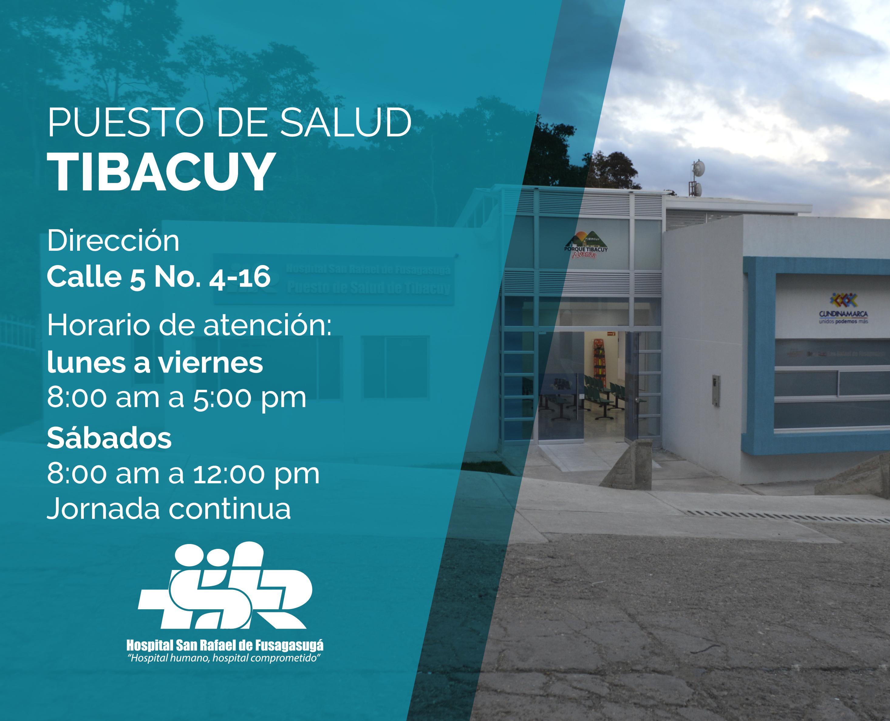 PUESTO DE SALUD TIBACUY