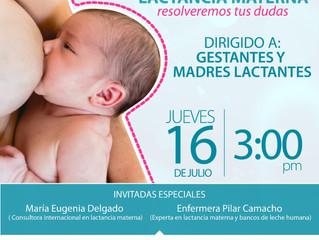 Maternidad Segura: Foro Virtual de Lactancia Materna