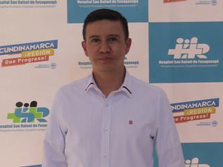 El médico Andrés Mauricio González Caycedo es el nuevo gerente del Hospital San Rafael de Fusagasugá