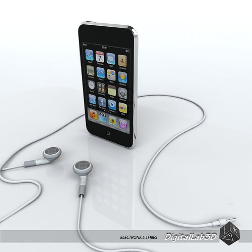 Ipod Touch 2nd gen with earphones