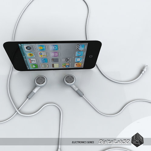 Ipod Touch 4th gen with earphones