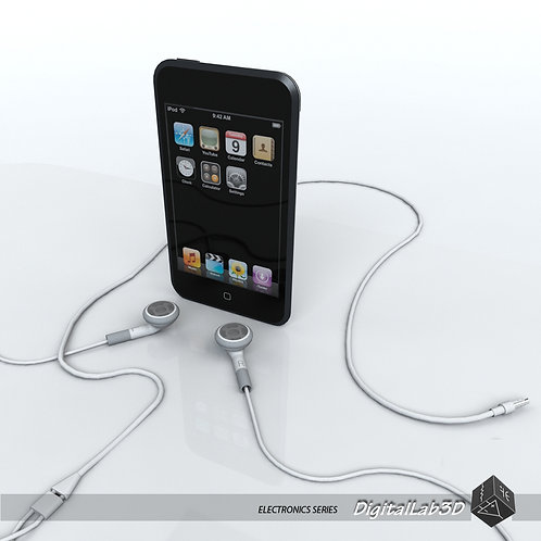 Ipod Touch 1st gen with earphones